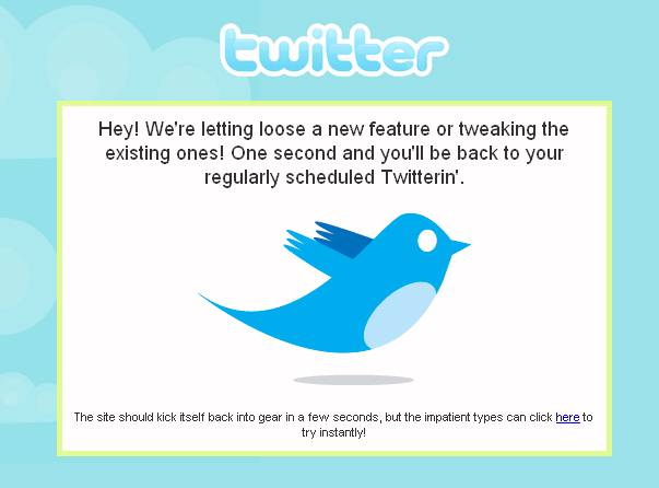 Twitter está twitteando