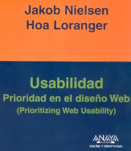 Usabilidad Prioridad en el diseño Web