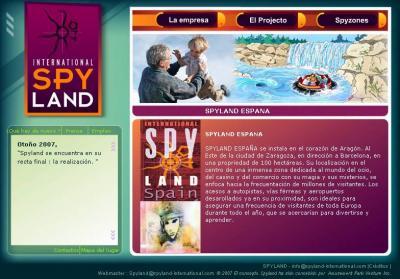 El proyecto del Spyland de Monegros ya esta terminados