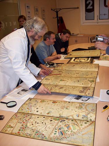 Mapamundi 1375 material de trabajo