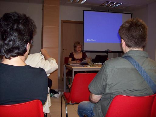 Ana Manzana en las VII Jornadas Aragón en Internet