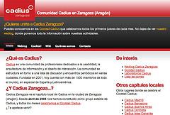 Diseño del Portal de Cadius Zaragoza