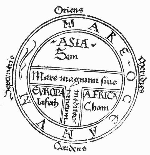 Estructura del mapamundi medieval