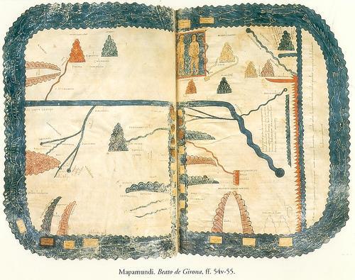 Mapamundi del Beato de Gerona