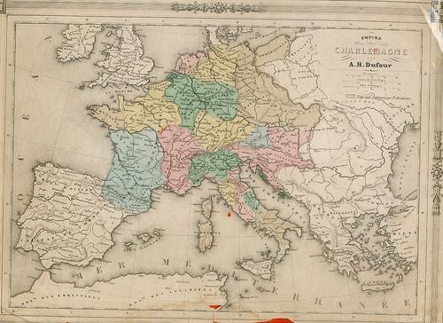 Empire de Charlemagne par A.H.Dufour